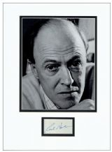 Roald Dahl Autograph Signed Display